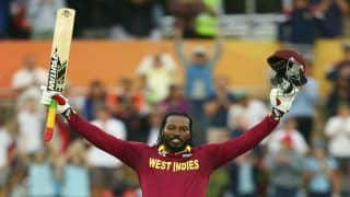 West Indies Opener Chris Gayle Equals Shahid Afridi's Record of Most Sixes in International Cricket