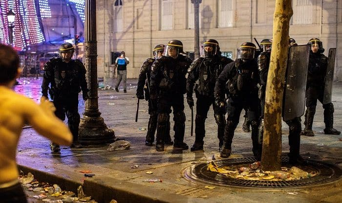 France FIFA World Cup Victory: Violence Breaks Out in Paris