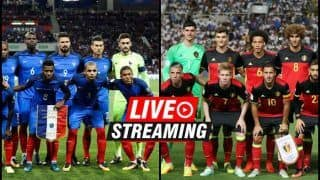France vs Belgium FIFA World Cup 2018 Match 61 Live Streaming: When And Where To Watch on TV (IST)