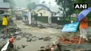 VIDEO: उत्तराखंड के पिथौरागढ़ में भारी बारिश ने मचाई तबाही, दर्जनों मकान ढहे, एक की मौत