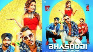 Bigg Boss 11 Finalist Hina Khan Shares The First Look of Punjabi Music Video Bhasoodi