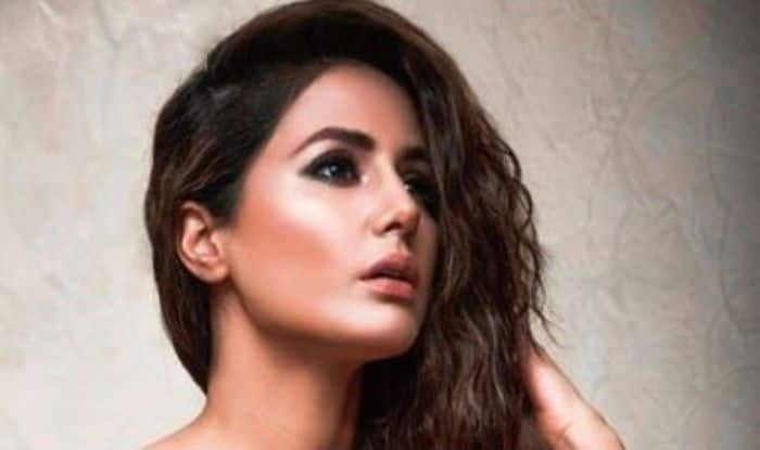 Bigg Boss 11 Finalist Hina Khan Strikes The Sexiest Pose In Her