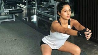 Bigg Boss 11 Contestant Hina Khan Melts The Internet With Sexy Workout Pictures