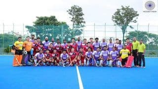 Hockey: India A Beats South Korea 7-3 at The Bengaluru Campus of Sports Authority of India