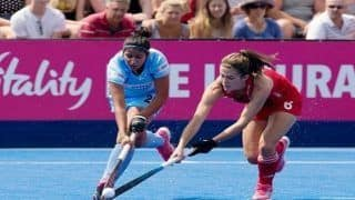 Women's Hockey World Cup 2018: Lily Owsley's Late Goal Denies India Win in Tournament Opener Against England
