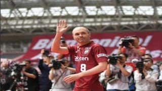Former Barcelona Footballer And Legend Andres Iniesta Arrives in Japan to Complete Vissel Kobe Move