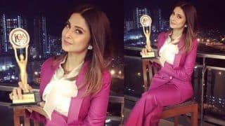 Bepannaah Actress Jennifer Winget Wins Most Promising Versatile TV Actress Award; Gets Emotional