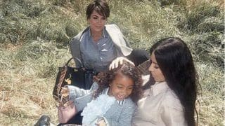 Kim Kardashian West, North West and Kris Jenner Star in Fendi's Latest Campaign