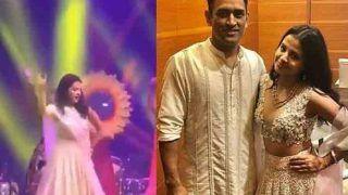 VIRAL VIDEO: दोस्त की शादी में साक्षी धोनी ने किया जमकर डांस