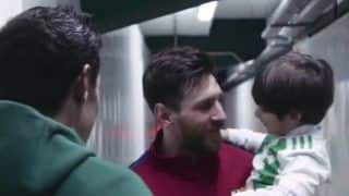 Lionel Messi's Classy Gesture, Fulfills Dream of Opponent's Son--WATCH