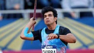 Star Javelin Thrower Neeraj Wins Gold at Sotteville Athletics Meet, Virender Sehwag Congratulates -- Watch