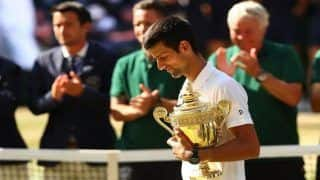 Wimbledon 2018: Novak Djokovic Routs Kevin Anderson in Final to Win 13th Grand Slam Title at All England Club