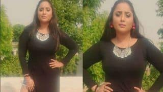 Bhojpuri Sizzler Rani Chatterjee Sets Internet on Fire With Her Indo-Western Look- View Picture