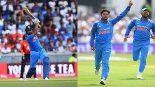 England vs India, 1st ODI: Kuldeep Yadav, Rohit Sharma, Virat Kohli Star as India Thump England by 8 Wickets at Trent Bridge
