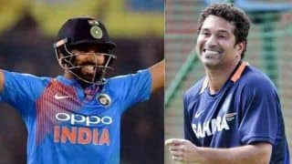 सचिन ने की थी 19वें ओवर में जीत की भविष्यवाणी, सच साबित हुई तो बोले 'थैंक्यू रोहित'