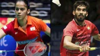 विश्व बैडमिंटन चैम्पियनशिप: साइना-श्रीकांत का शानदार प्रदर्शन, अगले दौर में पहुंचे