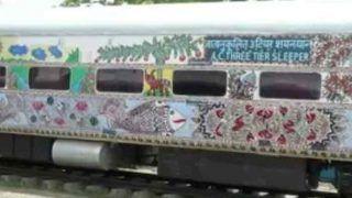 बिहार की ट्रेनों पर दिखेगी मिथिला पेंटिंग, राजधानी और संपर्क क्रांति एक्सप्रेस से होगी शुरुआत
