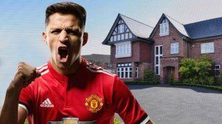 Alexis Sanchez's 1.9 Million Pounds Manchester Mansion up For Sale