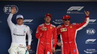 F1 German Grand Prix: Sebastian Vettel on Pole in Germany, Setback For Lewis Hamilton