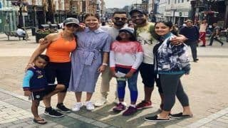 India vs England 2018: Shikhar Dhawan Hangs Out With 'Strangers' Virat Kohli and Anushka Sharma in UK
