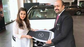 Bigg Boss 11 Contestant Shilpa Shinde And Dancing Beauty Sophie Choudry Buys Mercedes on The Same Day And Its Price Will Shock You