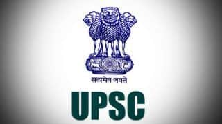 UPSC Mains Result 2019: Scores Declared on Official Website at upsc.gov.in, Check Now