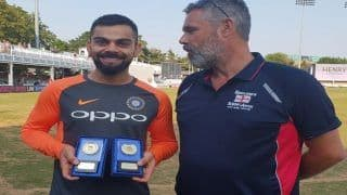 India vs England: Virat Kohli Receives 'Player of the Year' Medals by England's Barmy Army
