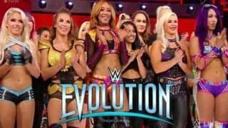 World Wrestling Entertainment (WWE) Commissioner Stephanie McMahon Announces First-Ever All-Women's Pay-Per-View Event 'Evolution'