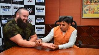 When WWE Superstar Braun Strowman Met an Astrologer in India