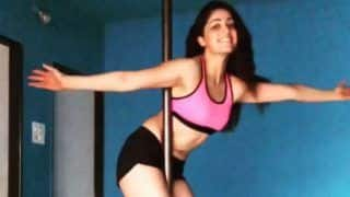 Yami Gautam Effortlessly Swirls Around And Looks Sexy While Pole Dancing; Watch The Video Here
