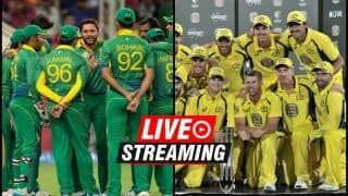 Pakistan vs Australia Live Streaming, 2nd T20I Tri-Series: When And Where to Watch on TV
