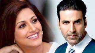 Akshay Kumar Meets Sonali Bendre in New York, Says She is a Fighter