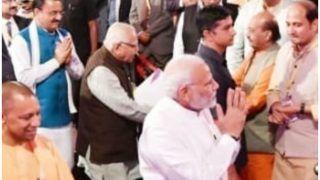 अमर सिंह के BJP में शामिल होने की अटकलें तेज, ग्राउंड ब्रेकिंग सेरेमनी में भगवा कुर्ता पहने आए थे नजर