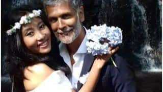 Milind Soman And Ankita Konwar Tie The Knot Again, Pics From Their 'Barefoot Wedding' In Spain Looks Dreamy