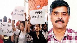 JNU की छात्राओं यौन उत्पीड़न के आरोपी प्रोफेसर को ईपीसीए से किया बाहर