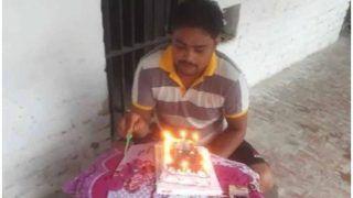 VIDEO: यूपी की जेल में गैंगस्टर ने मनाया बर्थडे, बोला- जेलर ने लिए एक लाख रुपए