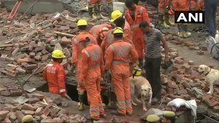 गाजियाबाद बिल्डिंग हादसा: अब तक 7 लोग निकाले गए, एक की मौत, CM ने दिए जांच के आदेश