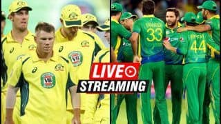 Australia vs Pakistan Live Streaming, 5th T20I: When And Where to Watch