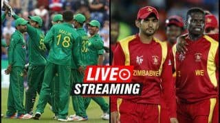 Zimbabwe vs Pakistan Live Streaming, 4th T20I Tri-Series: When And Where to Watch on TV