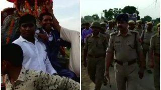 पुलिस सुरक्षा के बीच गांव में पहली बार घोड़ी चढ़ दुल्हनिया लेने पहुंचा दलित दूल्हा, विरोध करने वालों ने छोड़ा घर