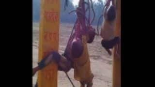 UP Shocker: Amroha Father Ties Children to Electric Pole, Thrashes Them Brutally For Rs 10