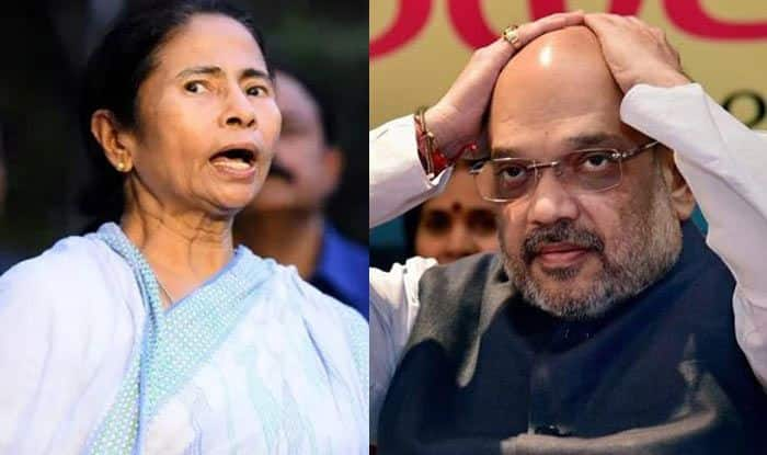 BJP Hits Out at Mamata Banerjee After Amit Shah's Chopper Denied Permission to Land at Malda Airstrip, Says She's Abusing Power