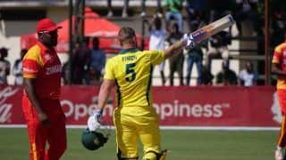 Australia vs Zimbabwe 3rd T20 Tri Series: Twitter Goes Berserk As Aaron Finch Smashes Record Breaking Century In Harare
