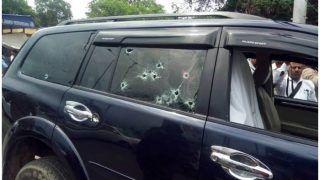 झांसी: कारोबारी संजय वर्मा पर जानलेवा हमला, चलती कार पर ताबड़तोड़ फायरिंग, एक की मौत