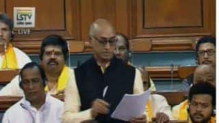 No-confidence Motion: TDP MP Jayadev Galla Slays BJP in Opening Move, Who is he?