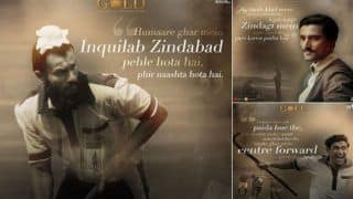 Gold Character Posters Featuring Amit Sadh, Kunal Kapoor, Vineet Singh, Sunny Kaushal is Out; See Who Plays What