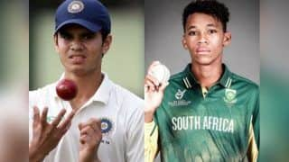 Move Over Sachin Tendulkar's Son Arjun, Makhaya Ntini's Son Thando Is Taking Giant Strides In Under-19 Cricket