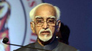 पूर्व उपराष्ट्रपति हामिद अंसारी ने अपनी विदाई पर PM मोदी के भाषण को परिपाटी से भटकाव बताया