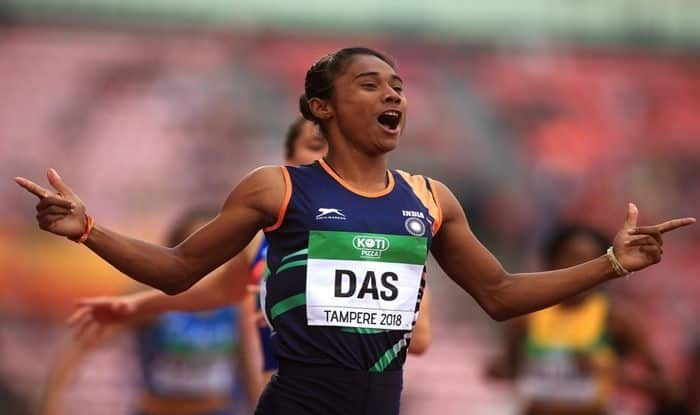 How 18-Year-Old Hima Das Created History By Becoming The ...