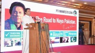 पाकिस्तान: इमरान खान ने जारी किया चुनावी मेनिफेस्टो, भारत के साथ की सहयोग की बात